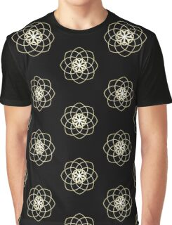 Many hearts, Much Joy! - Gold Phi Spiral Graphic T-Shirt