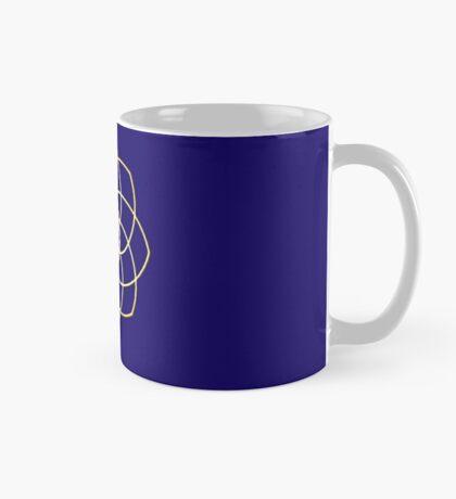 Many hearts, Much Joy! - Gold Phi Spiral Mug