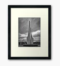 Concrete Sails Framed Print