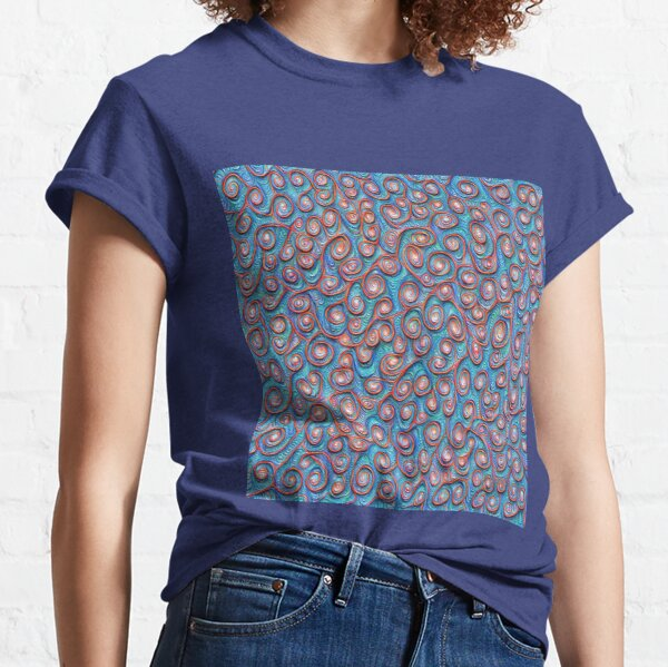 Out of the frost #DeepDream #Art Classic T-Shirt