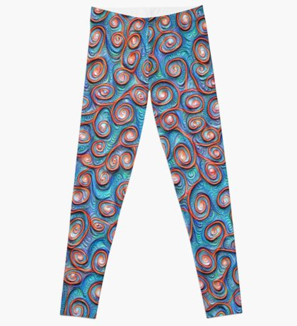 Out of the frost #DeepDream #Art Leggings