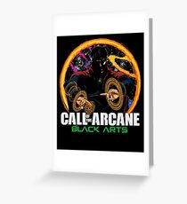 Call of the Arcane Greeting Card