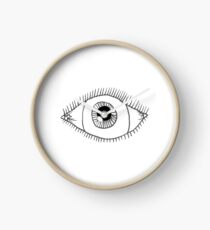 The Eyes Have It Clock