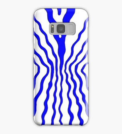 Flow - blue Samsung Galaxy Case/Skin