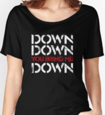 Down Women's Relaxed Fit T-Shirt