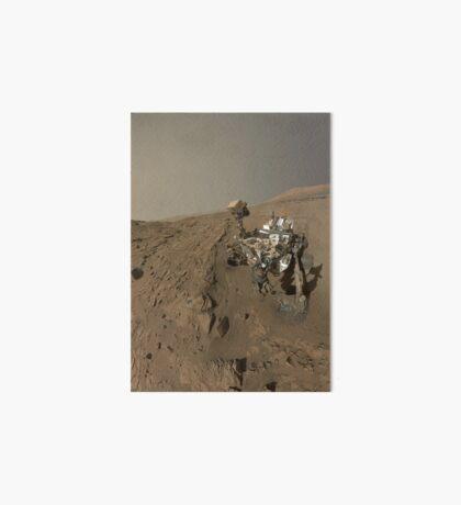 NASAs Curiosity Mars-Rover auf dem Planeten Mars. Galeriedruck