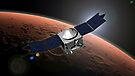 Künstlerkonzept der Mars Atmosphere und Volatile Evolution Mission der NASA. von StocktrekImages
