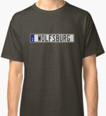 Wolfsburg Euro Rego Plate Classic T-Shirt