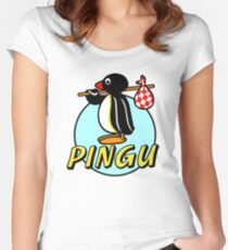 Penguin NUT Women's Fitted Scoop T-Shirt