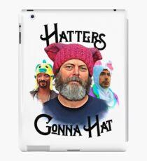 Hatters Gonna Hat iPad Case/Skin