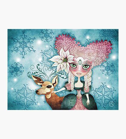 Noelle's Winter Magic Photographic Print
