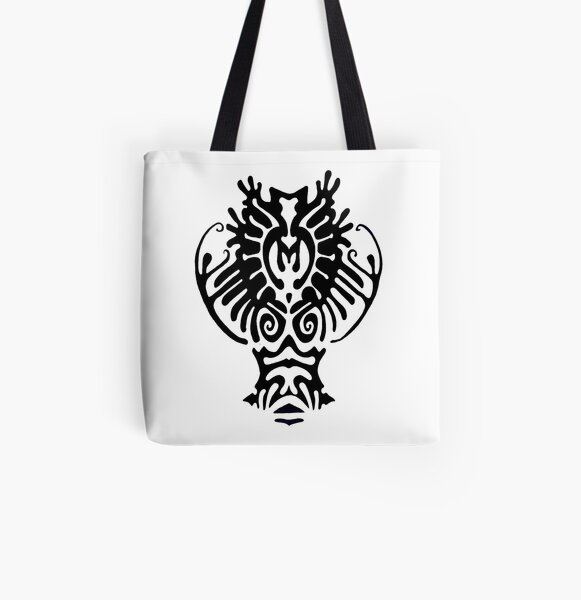 This is a cracy deer All Over Print Tote Bag