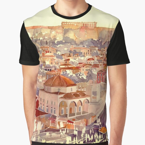 Athens Graphic T-Shirt
