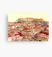 Athens Canvas Print
