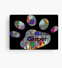 Casper -  my buddy, my friend Canvas Print