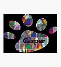 Casper -  my buddy, my friend Photographic Print