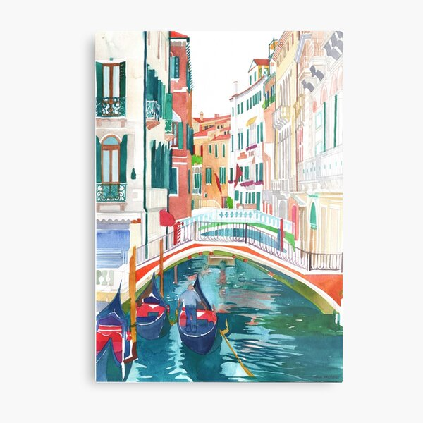 canal in Venice Metal Print