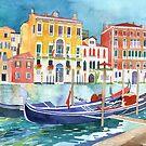 canal in Venice vol 2 by Maja Wrońska