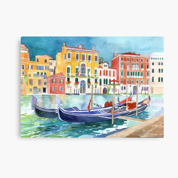 canal in Venice vol 2 Canvas Print
