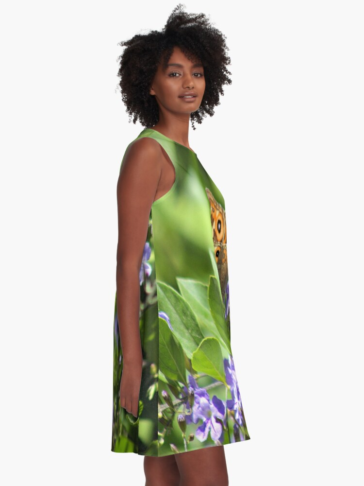 Alternate view of A Beautiful Butterfly A-Line Dress