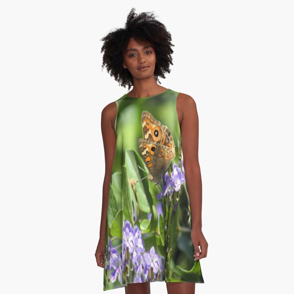 A Beautiful Butterfly A-Line Dress
