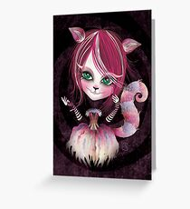 Cheshire Kitty Greeting Card