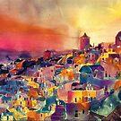 Santorini by Maja Wrońska