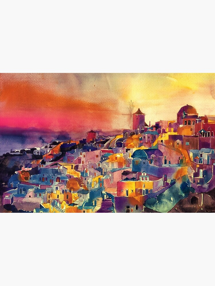 Santorini by takmaj