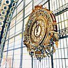 Clock Paris by Maja Wrońska