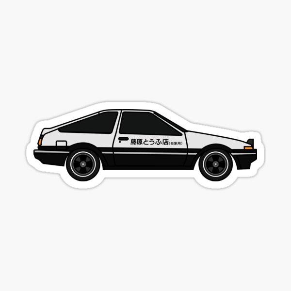 AE86 - Initial D AE86 Sticker