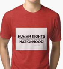 human rights, foreign policy - jimmy carter Tri-blend T-Shirt