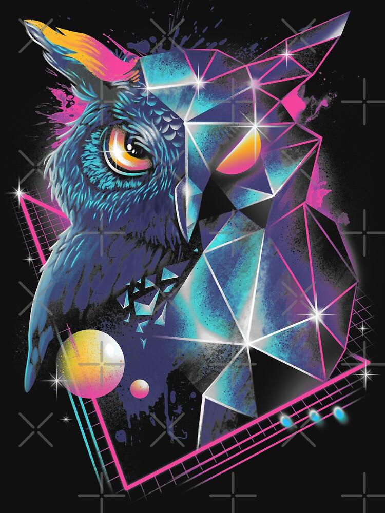 Rad Owl by vincenttrinidad