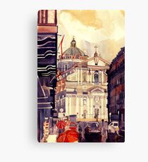 Rome Il Gesu Canvas Print