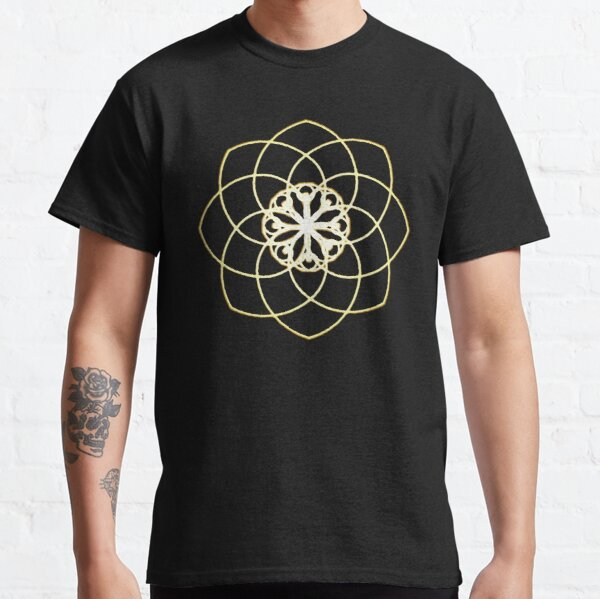 Many hearts, Much Joy! - Gold Phi Spiral Classic T-Shirt