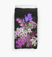 Orchids - Cool and Restful Colors! Duvet Cover