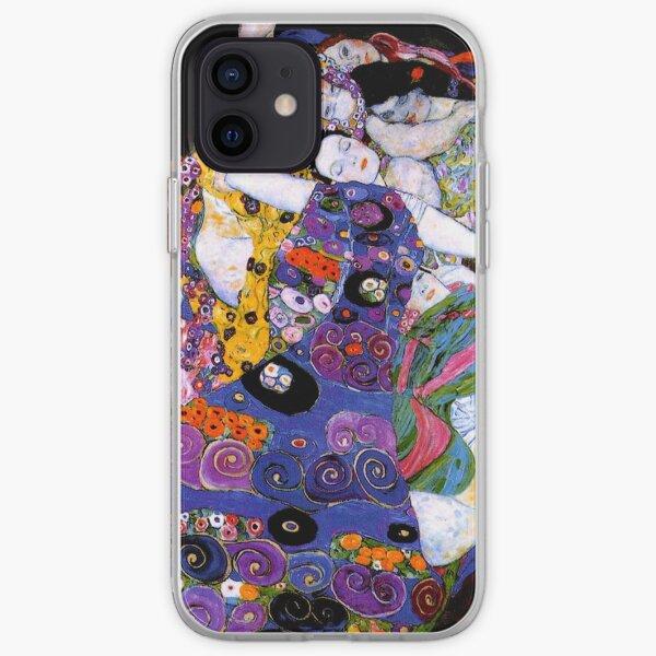 The Virgin by Gustav Klimt Fine Art  iPhone Soft Case