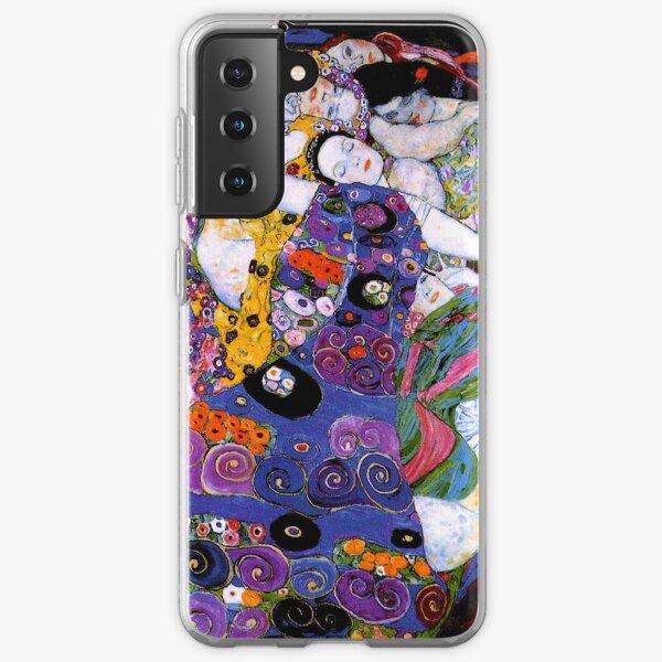 La Vierge de Gustav Klimt Fine Art Coque souple Samsung Galaxy