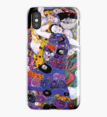 The Virgin by Gustav Klimt Fine Art  iPhone Case