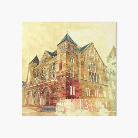 Castle in Poznan Art Board Print