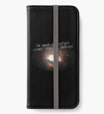 i'm made of multiple cosmic orgasms, dahling! iPhone Wallet/Case/Skin