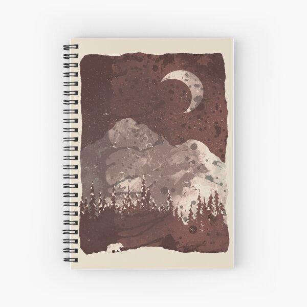 Winter Finds the Bear... Spiral Notebook