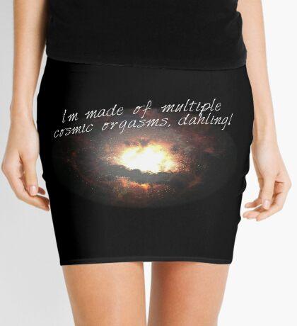 i'm made of multiple cosmic orgasms, dahling! Mini Skirt