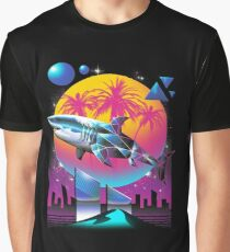 Rad Shark Graphic T-Shirt