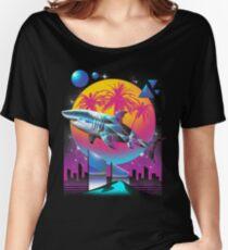 Camiseta ancha para mujer Rad Shark