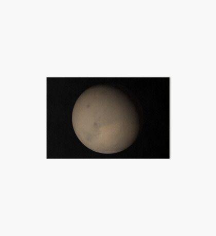 Die großen Staubstürme 2001 auf dem Mars. Galeriedruck