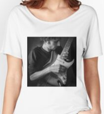 with guitar Women's Relaxed Fit T-Shirt