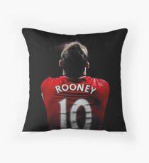 wayne rooney Throw Pillow