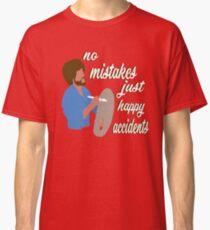 Bob Ross Happy Accidents Classic T-Shirt