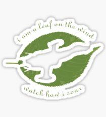 Firefly - Leaf on the Wind Sticker