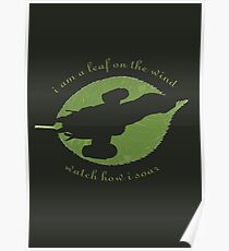 Firefly - Leaf on the Wind Poster